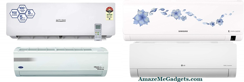 Top 10 best 5 Star 1.5 Ton Split Inverter Air Conditioners(2019) in India