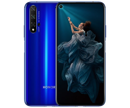 Honor 20 with Quad Cameras – Price & Specifications